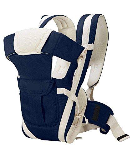 Ineffable Baby Carrier Cum Kangaroo Bag Shoulder Belt Sling Backpack Baby Holding Strap Adjustable Carry Bag(Dark Blue, Front Carry Facing Out)