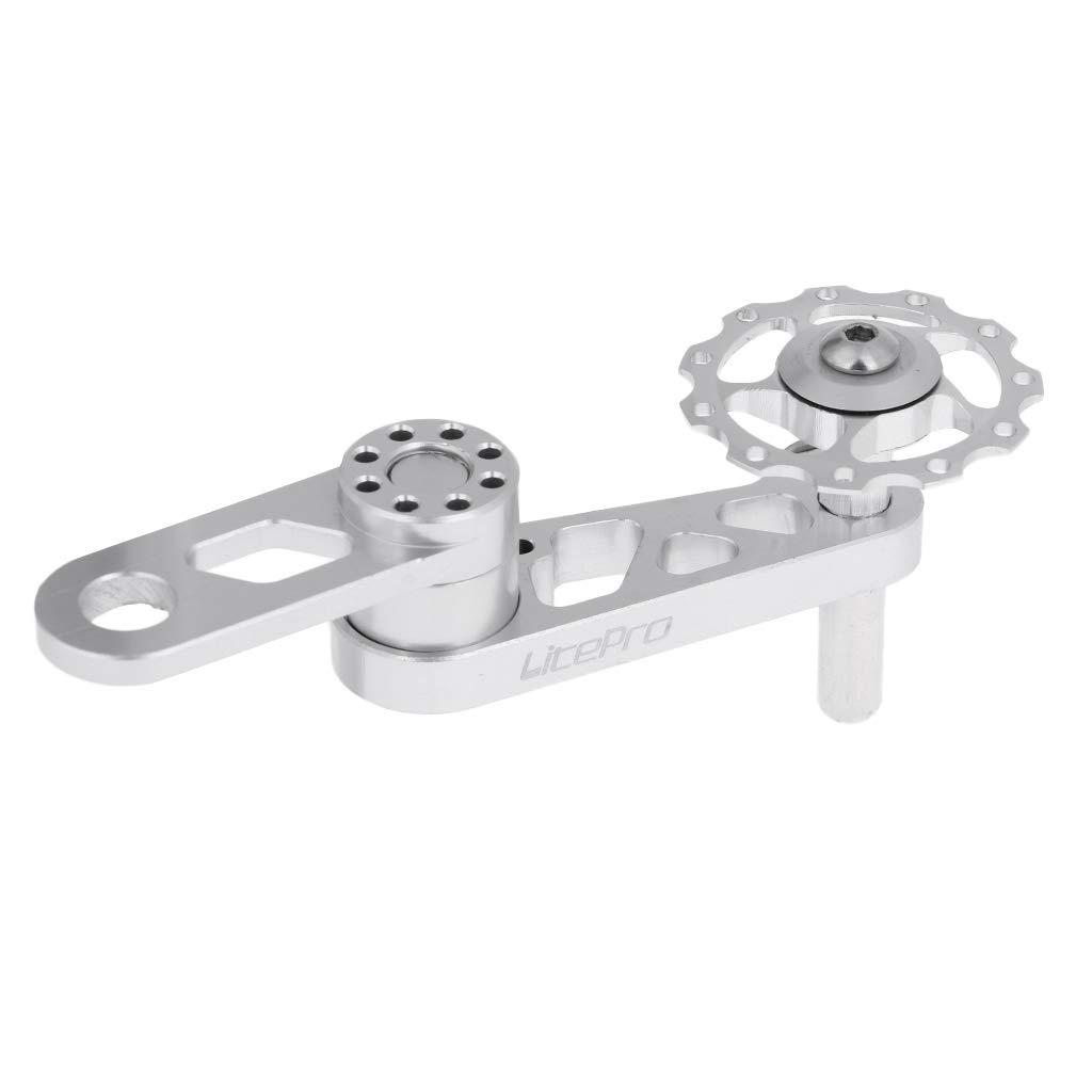 perfk Ultralight Single Speed Converter Chain Tensioner MTB Bicycle Seeker Bike Accessaries,120mm//4.7inch