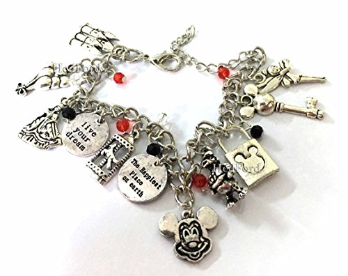 [Mickey Mouse Charm Bracelet (Mickey)] (Donald Duck Costumes For Adults)