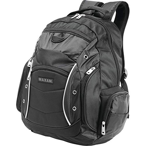Price comparison product image BNFUSA LUBPEX 19 in. Executive Backpack With Padded Compartment For Laptop
