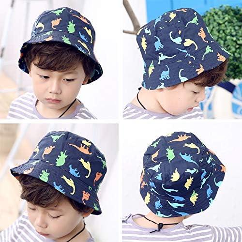 Gifts Treat Kids Sun Hat Cap with Dinosaur Design