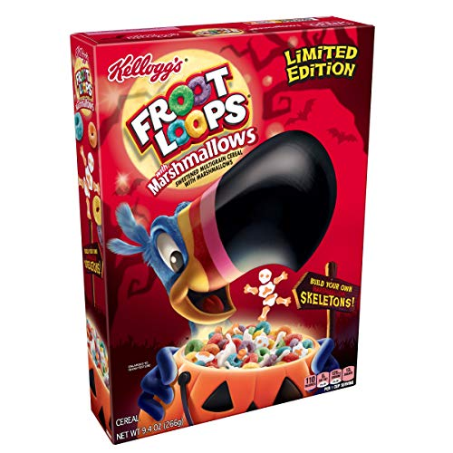 Froot Loops with Marshmallows Halloween (9.4-Ounce Box)(Pack of 12)
