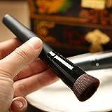 Yoyorule Foundation Brush Multi-Function Makeup Brush Soft Synthetic Hair Wooden Brush