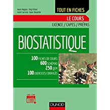 Biostatistique : Le cours (French Edition)