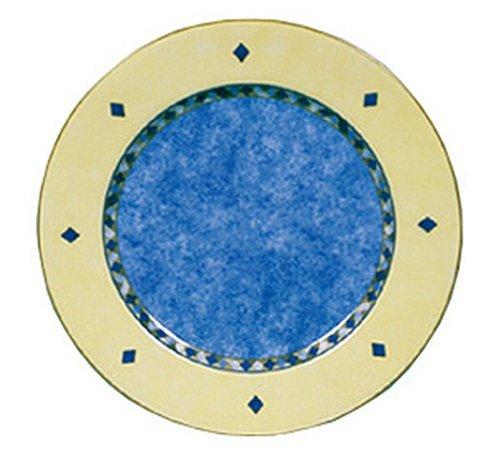 Royal Doulton Carmina 10 1/2-Inch Dinner Plate, Blue Center