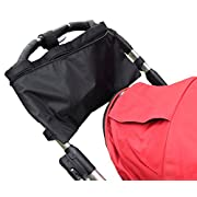 Keeble Outlets Stroller Organizer Has a Large Open Bag With Plenty of Room for All Your Needs. It Doubles as an Easy Access Seniors Walker Bag. With No Compartments Limiting What You Can Carry.