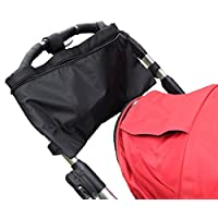 Keeble Outlets Stroller Organizer Has a Large Open Bag With Plenty of Room fo...