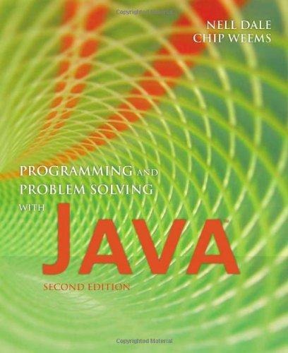 Programming and Problem Solving with Java by Brand: Jones Bartlett Publishers