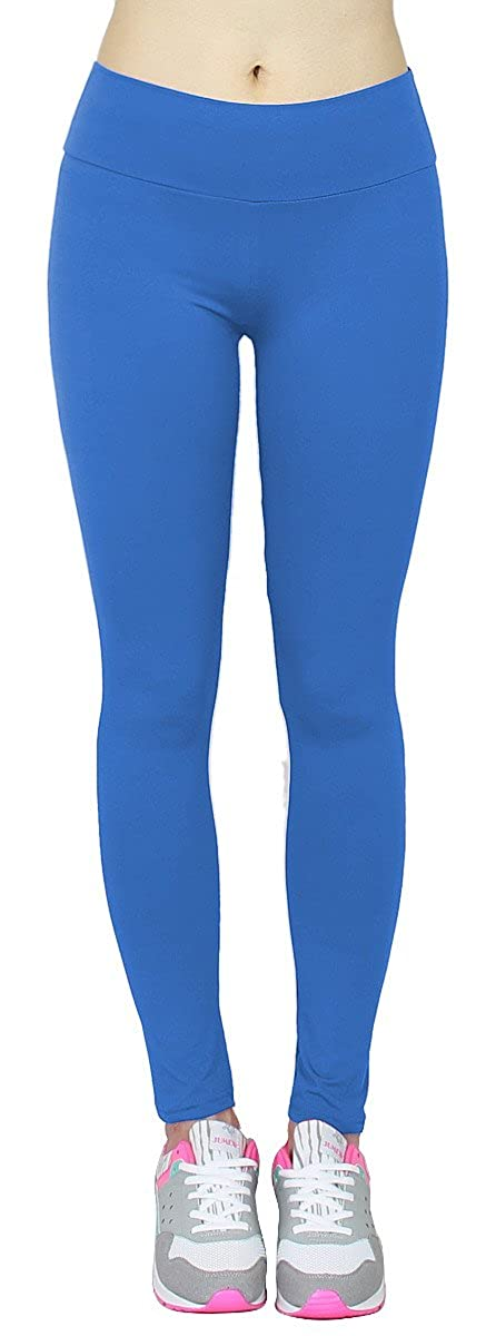 19d2953c0ff4ba dy_mode High Waist Leggings Damen Einfarbige Tanz Leggings Jogginghose Yoga  Pants Gymnastik Hose - JL154 (Blau): Amazon.de: Bekleidung