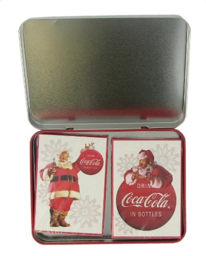(Bicycle 2008 Collectors COCA-COLA 2 Decks Playing Cards in Limited Edition Keepsake TIN)