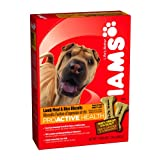 Iams Proactive Health Adult Lamb Meal and Rice Biscuits, 24-Ounce Boxes (Pack of 6), My Pet Supplies