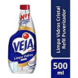 Limpa Vidros Vidrex Cristal Refil 500 Ml, Veja