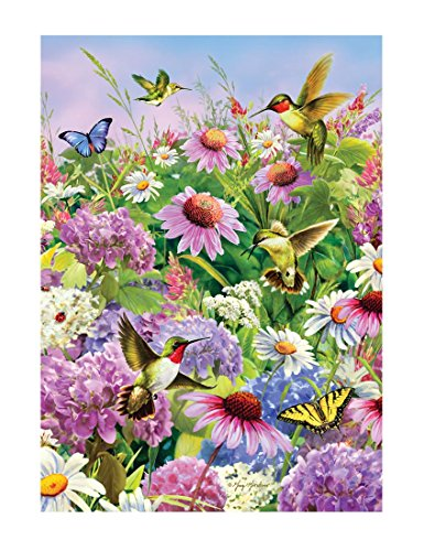 Hummingbird and Coneflower - 750 Pieces