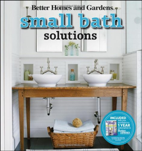 Small Bath Solutions Better Homes and Gardens Home Better Homes
