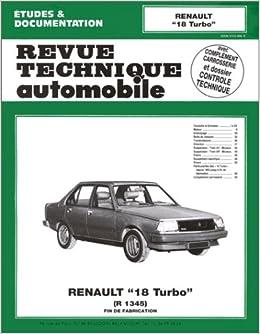 Rta 419.3 Renault 18 Turbo (81/86): Amazon.es: Etai: Libros en idiomas extranjeros