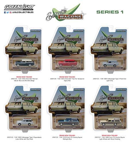 1:64 Estate Wagons Series 1 (29910) - Includes 6 Different Vehicles ()