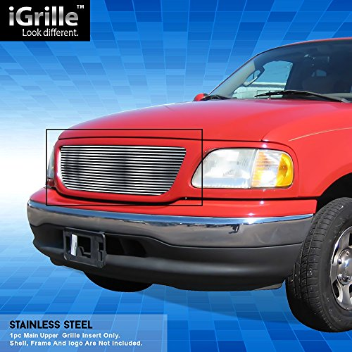 Off Roader eGrille Stainless Steel Billet Grille Grill Fits 99-03 Ford F-150 ()