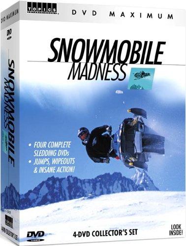 Snowmobile Madness 4 DVD Boxed Set (Snowmobile Box Set)