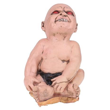 Amazon Com Sm Sunnimix Bloody Zombie Baby Doll Halloween Props