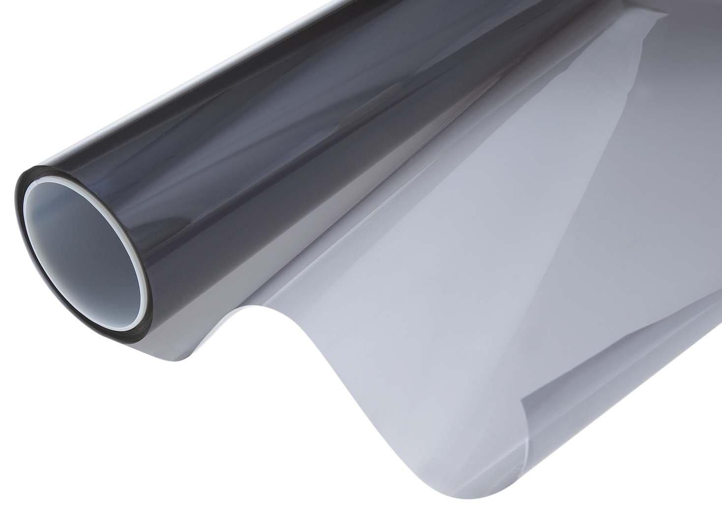 Window Tint Film Roll 20BK with sun control, Black ROLL - 60in X 100ft