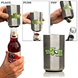 Mytopoff Six Pack Special Stainless Push-down Bottle Openers Free Ship Review