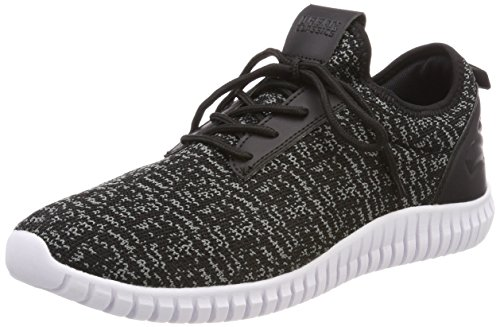 White Urban Shoe 827 Runner Grey Knitted Mixte Baskets Adulte Classics Multicolore Black Light 6xwpPqC6