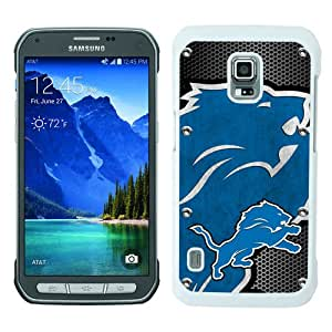 Detroit Lions 04 White Samsung Galaxy S5 Active Screen Phone Case Luxury and Fashion Design
