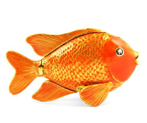 Objet D'Art Release  144  Garabaldi  California Protected State Fish Handmade...