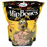 Hip Bones Tart Cherry Dog Biscuits, 17.6-Ounce Bags (Pack of 6), My Pet Supplies