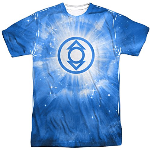 Energy -- Indigo Lantern All-Over Front Print Sports Fabric T-Shirt