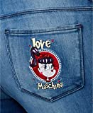 Love Moschino Women's Ripped Skinny Jeans