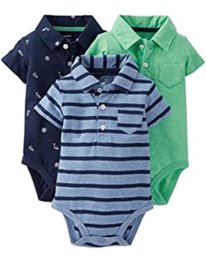 3 Pack Bodysuits (Baby) - Assorted