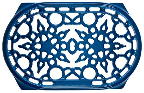 Le Creuset Cast Iron Deluxe Oval Trivet, 10 1/2'' x 6 3/4'', Marseille by Le Creuset (Image #1)