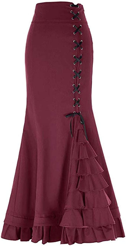Amphia – Mini Falda básica para Mujer, Sexy Cola de pez, cinturón ...