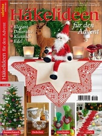 Oz Verlag Sabrina Special Häkeln Advent S2140 Amazonde Küche