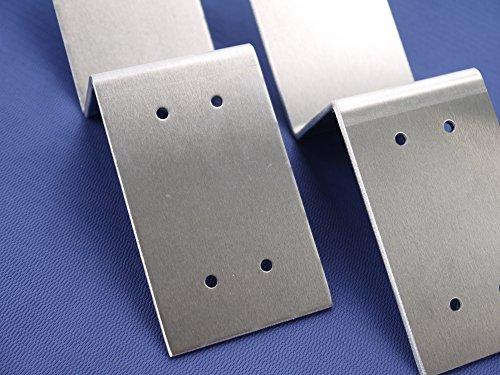 Drop Open Bar Security Door Lock Bracket Brackets Fits 2x4