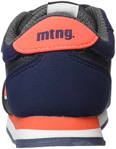 MTNG Jogger, Zapatillas Unisex Niños Azul (Action Pu Marino/Fino Camu Gris)