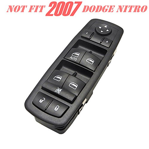 Jeep Liberty Driver Side Master Power Window Switch for Jeep Journey Dodge Nitro 2008-2012 ()