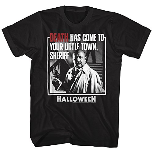 Halloween Scary Horror Slasher Movie Film Death Come To Town Adult T-Shirt -