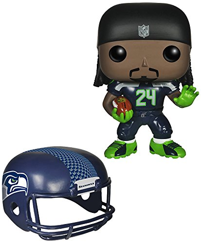 Funko POP NFL: Wave 1 - Marshawn Lynch Action Figures