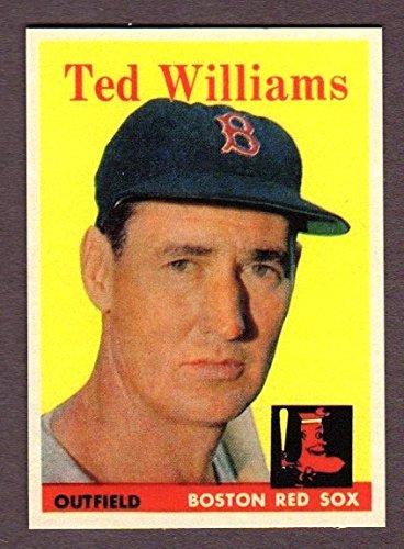 Ted Williams 1958 Topps Baseball Reprint Card (Boston)