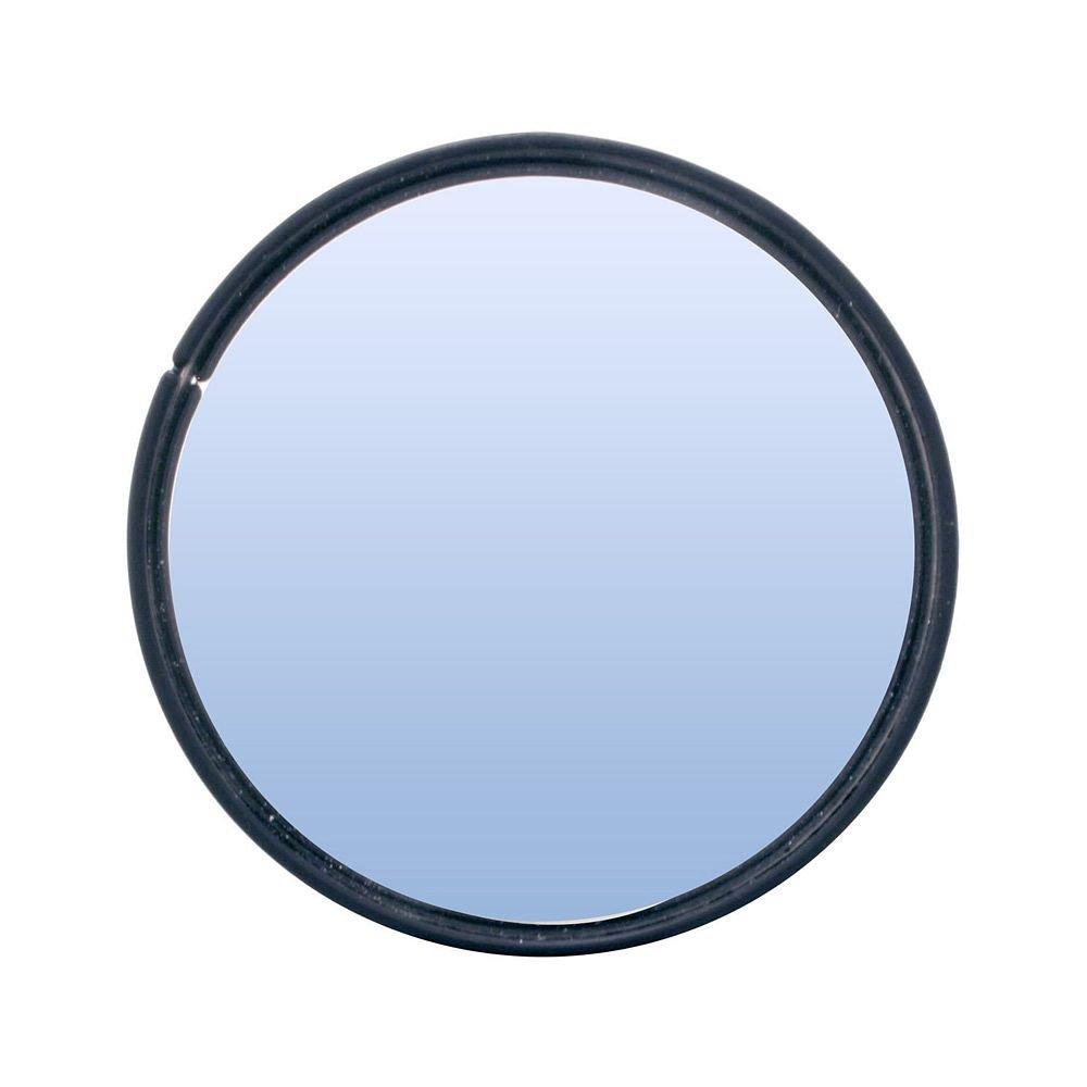 Pilot Automotive MI-067 Black Universal 3' Blind Spot Mirror, 2 Pack, (Non-Carb Compliant)