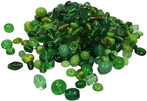 Playbox 200g Glass Beads Green
