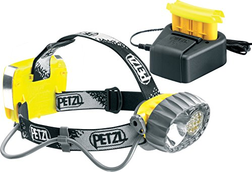 Petzl - DUO LED 14 Headlamp, ACCU 67 Lumens, With Rechargeable Battery, Waterproof to 5 Meters
