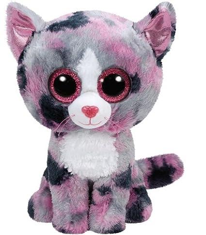 79dba64b250 Amazon.com  Ty - beanie Plush - lindi Boo  S - cat  Toys   Games