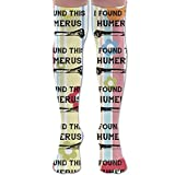Humerus Medical Nurse Doctor FUNNY Women's Thigh High Socks Over Knee High Socks Leg Warmer Sexy Stockings