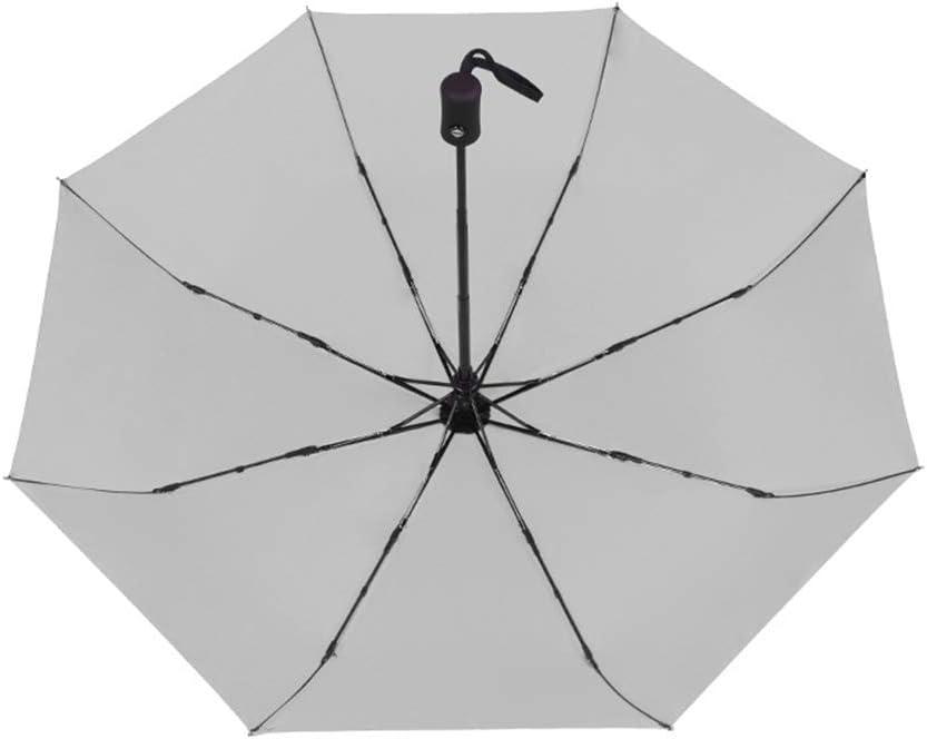 JUNDY Paraguas Compacto y Resistente al Viento, Paraguas Plegable, Conveniente para Viajes Paraguas Plegable automático de Negocios de Ocho Huesos color8 94cm: Amazon.es: Hogar