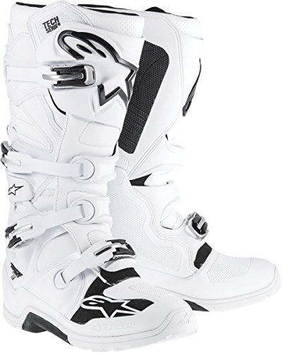 Alpinestars Tech 7 Enduro Men's Off-Road Motorcycle Boots - White / 9
