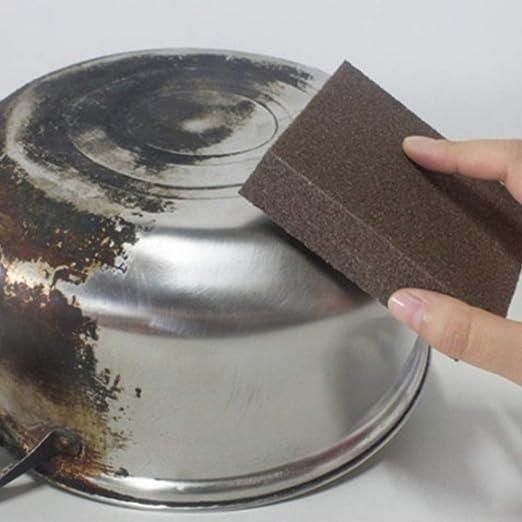 ... Limpieza Mágica Multiusos Exfoliante Manchas Quitar Limpieza Scrubber Cepillo celulosa eliminar suciedad dura aceite antiarañazos: Amazon.es: Hogar