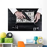 Illegal Business Wall Mural by Wallmonkeys Peel and Stick Graphic (60 in W x 40 in H) WM365662